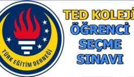 TED Koleji Vakfına Sınavla Öğrenci Alınacak