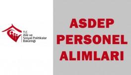Aile Bakanlığı ASDEP Personel Alımları