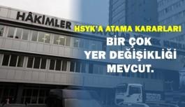 HSYK 19 Mart 2016 Yeni Atama Kararları