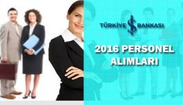 Türkiye İş Bankası Çok Sayıda Personel Alıyor