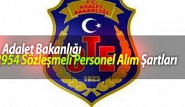 Adalet Bakanlığı Ceza ve Tevkifevleri Genel Müdürlüğü Personel Alım Şartları