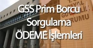GSS Borç Sorgulama ve Ödeme İşlemleri Nereden Yapılır ( Kimlerin GSS Borcu Siliniyor)