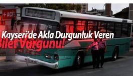 Kayseri'de 1 Milyon TL'lik Otobüs Kartı Dolandırıcılığı