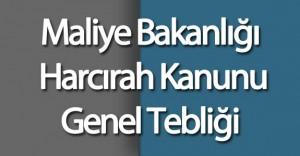 Maliye Bakanlığı Harcırah Kanunu Genel Tebliği Resmi Gazete'de Yayımlandı