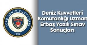 2016 Deniz Kuvvetleri Komutanlığı Uzman Erbaş Yazılı Sınav Sonuçları ve 2. Seçim Aşamaları