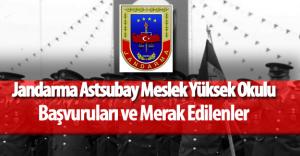 2016 Jandarma Astsubay Meslek Yüksek Okulu (2016 JAMYO ) Başvurular Devam Ediyor