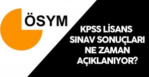 2016 KPSS Lisans Sonuçları Ne Zaman Açıklanır? ( ÖSYM Sınav Takvimi Sonuç Açıklama Tarihi)