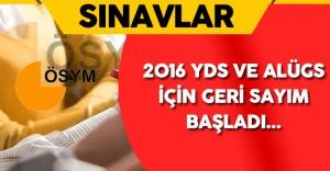 2016 YDS Sonbahar Dönemi ile ALÜGS Yarın Yapılacak