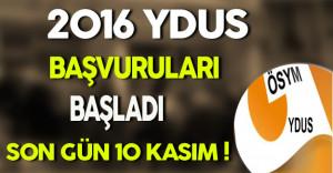 2016 YDUS Başvuru ve Tercih Kılavuzu Yayınlandı