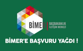 2016 yılında BİMER'e yüzbinlerce başvuru yağdı