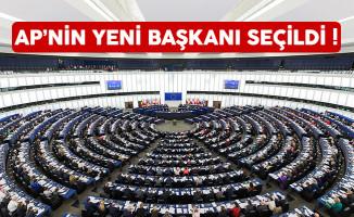 Avrupa Parlamentosu yeni başkanı Antonio Tajani oldu