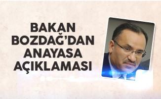 Bakan Bozdağ: Cumhurbaşkanlığı sistemine diktatörlük demek iftiradır
