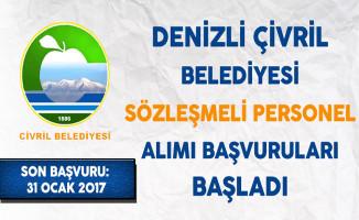 Denizli Çivril Belediyesi Sözleşmeli Personel Alımı Başvuruları Başladı