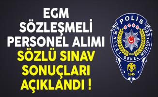 Emniyet Genel Müdürlüğü (EGM) Sözleşmeli Avukat Alımı Sınav Sonuçları Açıklandı !