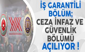 İş Garantili Bölüm: Ceza İnfaz ve Güvenlik Bölümü Türkiye'de İlk Defa Atatürk Üniversitesi'nde Açılıyor