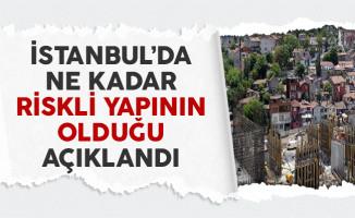 İstanbul'da Ne Kadar Riskli Yapının Olduğunu Çevre ve Şehircilik Bakanı Açıklandı