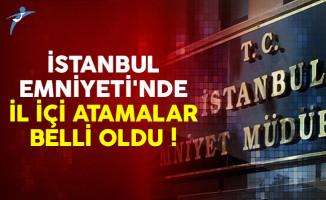 İstanbul Emniyet Müdürlüğünde 80 müdür yardımcısı ataması yapıldı