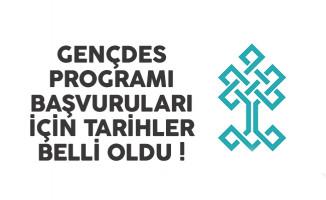 Kültür Bakanlığı GENÇDES programı başvuru tarihleri belli oldu