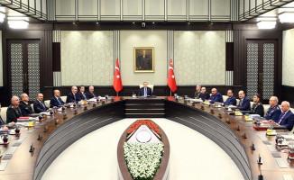 Milli Güvenlik Kurulu Cumhurbaşkanı Erdoğan Başkanlığında Toplandı