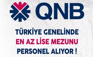 QNB Finansbank Türkiye Genelinde En Az Lise Mezunu Personel Alıyor