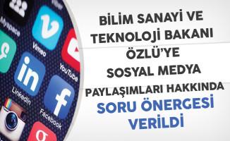 Sosyal Medya Paylaşımları Nedeniyle Haklarında İşlem Yapılan Kamu Personeline İlişkin Soru Önergesi Verildi