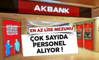 Akbank Türkiye Geneli Personel Alım İlanı 2017