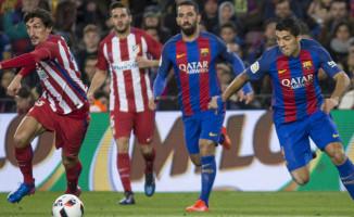 Arda'lı Barcelona Atletico Madrid'i Final Yolunda Geçti!