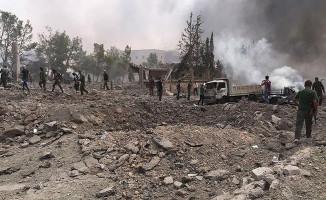Bab'ın Kuzeyine Bombalı Araç Saldırısı Gerçekleştirildi (Ölü ve Yaralılar Var)