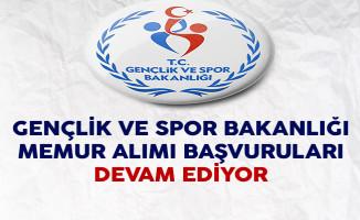 Gençlik ve Spor Bakanlığı Avukat Alımı Başvuruları Devam Ediyor