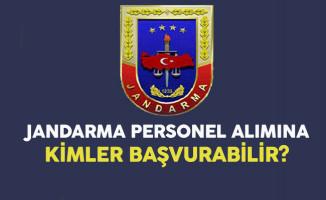 Jandarma Sözleşmeli Personel Alımına Kimler Başvurabilir?
