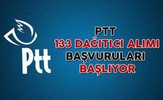 PTT Genel Müdürlüğü 133 Dağıtıcı Personel Alımı Başvuruları Başlıyor