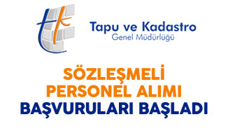 Tapu ve Kadastro Genel Müdürlüğü Sözleşmeli Personel Alımına Kimler Başvurabilir?