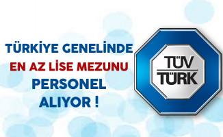 TÜVTÜRK Türkiye Genelinde Personel Alıyor