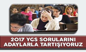 2017 YGS Sınav Soruları, Cevapları, Yorumları (Kolay Mıydı ? Zor Muydu?)