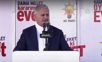 Başbakan Yıldırım: İnşallah Sandık'tan 'Evet' Çıkacak
