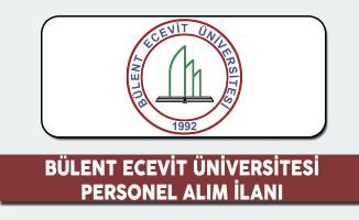 Bülent Ecevit Üniversitesi Personel Alım İlanı 2017