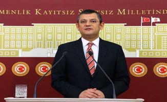 CHP Grup Başkanvekili Özel'den 5 Teklif