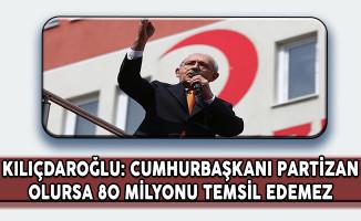 CHP Lideri: Cumhurbaşkanı Partizan Olursa 80 Milyonu Temsil Edemez
