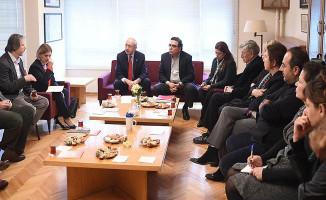 CHP Lideri Kılıçdaroğlu İhraç Edilen Akademisyenlerle Görüştü