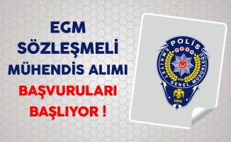 Emniyet Genel Müdürlüğü (EGM) Sözleşmeli Mühendis Alımı Başvuruları Başlıyor