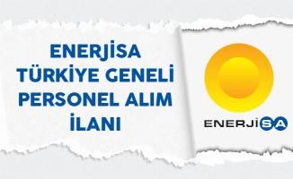 Enerjisa Türkiye Geneli Personel Alım İlanı