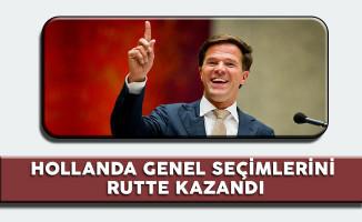 Hollanda Genel Seçimlerini Rutte Kazandı