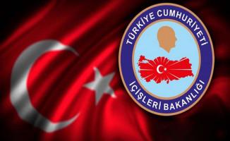 İçişleri Bakanlığı: Son Bir Haftada 201 Operasyonda 386 Kişi Gözaltına Alındı