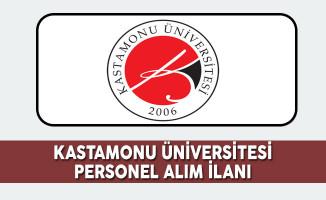 Kastamonu Üniversitesi Personel Alım İlanı