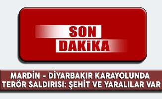 Mardin Diyarbakır Karayolunda Patlama: Şehit ve Yaralılar Var