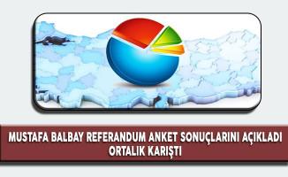 Mustafa Balbay Referandum Anket Sonuçlarını Açıkladı, Ortalık Karıştı