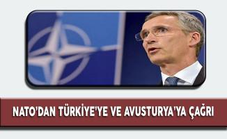Nato'dan Avusturya'ya ve Türkiye'ye  Çağrı