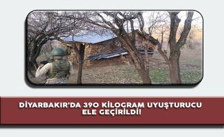 PKK'ya Yönelik Operasyonda 390 Kilogram Uyuşturucu Ele Geçirildi