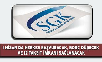 SGK : Gelir Testi Süreci 1 Nisan'da Başlıyor, Borç Düşecek ve 12 Taksit İmkanı Sağlanacak
