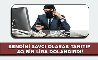 Telefon Dolandırıcısına 8 Yıl Hapis 80 Bin Para Cezası!